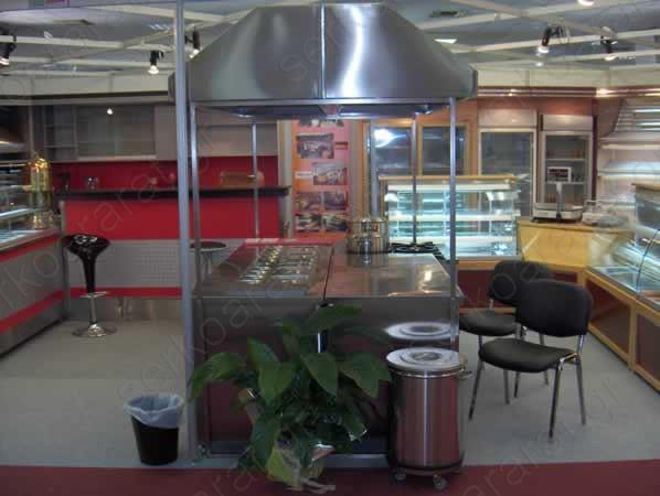 Έκθεση Food snack and coffee Εξοπλισμός κουζίνας