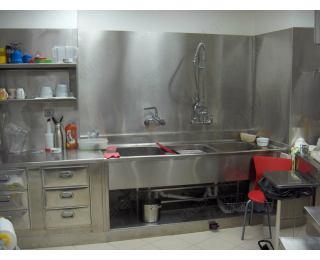 Τμήμα πλυσίματος εστιατορίου