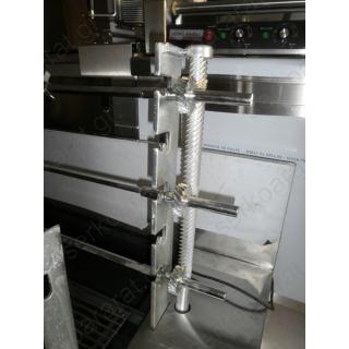 Ψησταριά επιτραπέζια κάρβουνου με 3 σούβλες χωρίς φούσκα