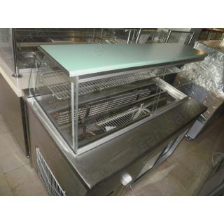 Ψυγείο βιτρίνα σαλατών 130Χ75Χ130