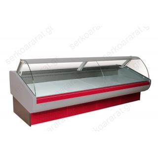 Ψυγείο βιτρίνα κρεάτων 300Χ117Χ110 ΑΠΟΛΛΩΝ