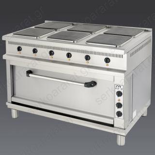 Κουζίνα ηλεκτρική KEFM670 Catrine