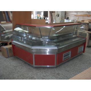 Ψυγείο βιτρίνα κρεοπωλείου (γωνία) 250+150Χ90Χ130