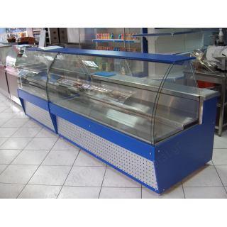 Ψυγείο βιτρίνα 200X95X130 τυριών - αλλαντικών