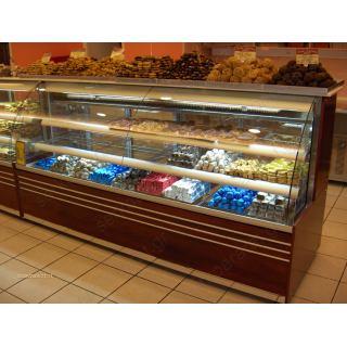 Ψυγείο ζαχαροπλαστικής βιτρίνα 200Χ80Χ130
