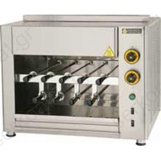 Ψησταριά ηλεκτρική με 9 σούβλες για κοντοσούβλια SGE9