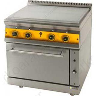 Κουζίνα ηλεκτρική με ενιαία πλάκα ψησίματος FC4FES7