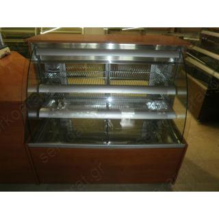 Ψυγείο Ζαχαροπλαστείου Βιτρίνα 130X80X130