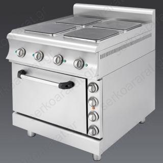 Επαγγελματική κουζίνα ηλεκτρική Catrine KEF470