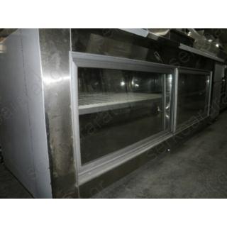 Ψυγείο πάγκος πίτσας με 2 πόρτες & προσθήκη καπάκι για GN 270X80