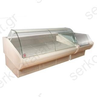 Ψυγείο βιτρίνα κρεάτων ΑΠΟΛΛΩΝ μεντεσές 200Χ117Χ110