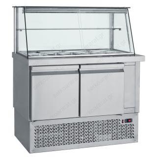 Ψυγείο τόστ βιτρίνα 110Χ70Χ130