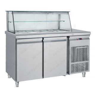 Ψυγείο τόστ βιτρίνα 155Χ70Χ130