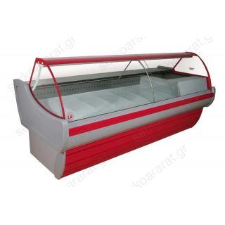 Ψυγείο βιτρίνα 250Χ109Χ117 τυριών / αλλαντικών