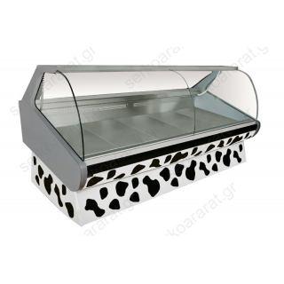 Ψυγείο βιτρίνα 150Χ122Χ123 κρεάτων ΗΡΑΚΛΗΣ