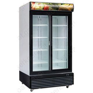 Ψυγείο βιτρίνα συντήρηση διπλή (με συρόμενα) LC-800TM2F