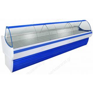 Ψυγείο βιτρίνα 302Χ109Χ117 αλλαντικών - τυροκομικών ΠΟΣΕΙΔΩΝ