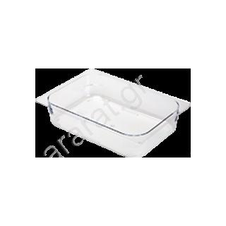 Λεκάνη Gastronorm G/N πολυκαρμπονική 1/2 (Βάθος 6,5 cm)