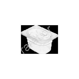 Λεκάνη Gastronorm G/N πολυκαρμπονική 1/9 (Βάθος 6,5 cm)