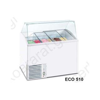 Κατάψυξη βιτρίνα χύμα παγωτού ECO ICE4