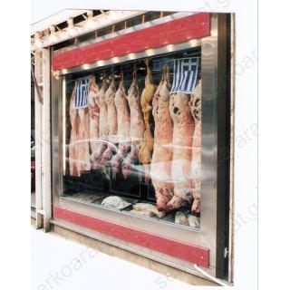 Ψυγείο θάλαμος βιτρίνα κρεοπωλείου 300Χ90Χ205