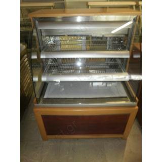 Ψυγείο ζαχαροπλαστείου βιτρίνα (ενσωμ.μηχ) 100Χ80Χ130