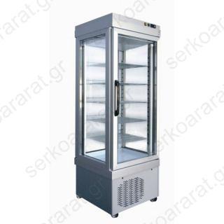 Ψυγείο βιτρίνα ζαχαροπλαστικής (συντήρηση/κατάψυξη) 4400NFP