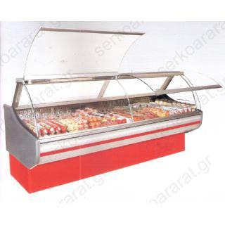 Ψυγείο βιτρίνα 200Χ106Χ125 αλλαντικών-τυροκομικών-κρεάτων
