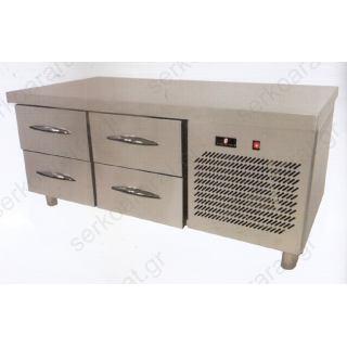 Ψυγείο πάγκος 140Χ70Χ63 με 4 συρτάρια