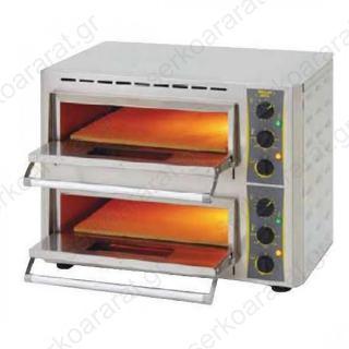 Φούρνος πίτσας με πυρότουβλο PZ 430D