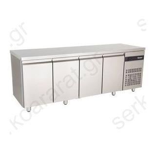Ψυγείο πάγκος συντήρηση με 4 πόρτες PΜR9999