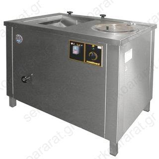 Πλυντήριο και στεγνωτήριο ανοξείδωτο υψηλών αποδόσεων για λαχανικά FLD0002