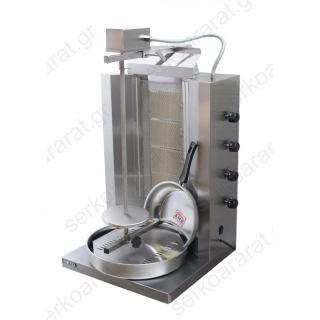 Γύρος υγραερίου για 35 κιλά κρέατος MOD.904