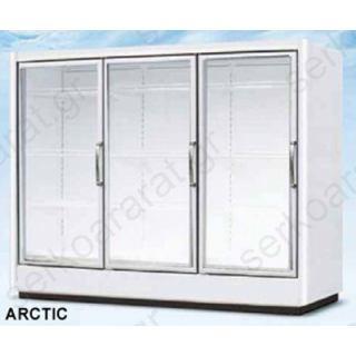 Ψυγείο θάλαμος συντήρηση με τζαμένιες πόρτες 168m.ARCTIC