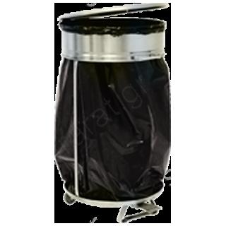 Κάδος ανοξείδωτος απορριμάτων σακούλας