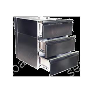 Συρταριέρα τριπλή ανοξείδωτη (ερμαρίου)