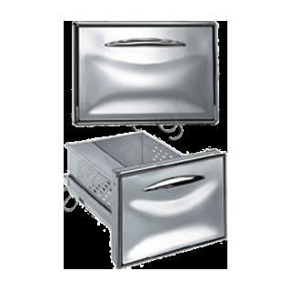Συρτάρι μονό ανοξείδωτο 44,5Χ24,5 (ψυγείου)