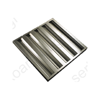Φίλτρο ανοξείδωτο 50Χ50Χ2,8 (φούσκας)