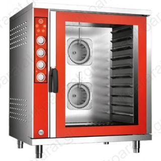 Υγραερίου κυκλοθερμικός φούρνος 10 θέσεων 60Χ40 ή 10 GN1/1 BAKE 1020 GAS MECHANICAL