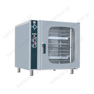 Φούρνος ηλεκτρικός αέρος με 10 θέσεις 60Χ40 ή 10 GN 1/1 FCN100