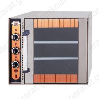 Φούρνος ηλεκτρικός για 3 ταψιά 60Χ40 ή GN 1/1 RHODES