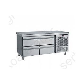 Ψυγείο πάγκος συντήρηση χαμηλό (με 4 συρτάρια) 139Χ70Χ68
