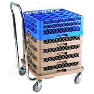 Τρόλει μεταφοράς καλαθιών με ανοξείδωτη λαβή MOD:4201
