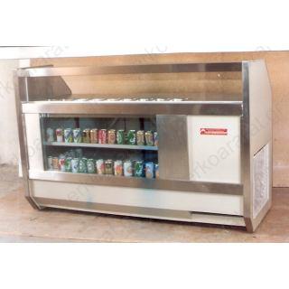 Ψυγείο μπάρ με βιτρίνα 200Χ75Χ130