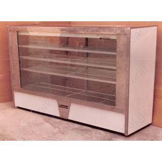 Ψυγείο μπαρ με βιτρίνα 220Χ80Χ130