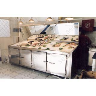 Ψυγείο ψαράδικου πάγκος 3,00Χ80Χ90/100
