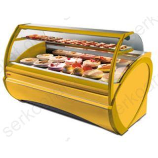 Ψυγείο ζαχαροπλαστικής βιτρίνα DORADO PASTRY 123X112X136