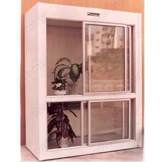 Επαγγελματικό ψυγείο ανθοπωλείου με συρόμενα κρύσταλλα 200Χ75Χ205