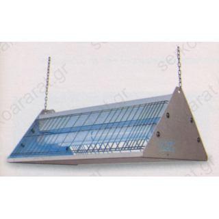 Εντομοπαγίδα ηλεκτρική MOD.372 INOX