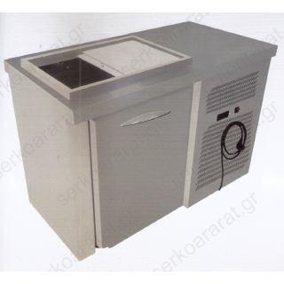 Ψυγείο πάγκος τυριέρα 161Χ60Χ90